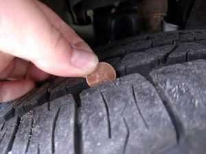The Penny Test for Tires